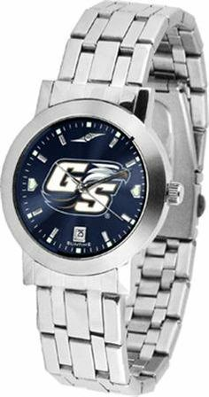 Georgia Southern Eagles GSU NCAA Mens Modern Wrist Watch SunTime. $80.95. Officially Licensed Georgia Southern Eagles Men's Watch Stainless Steel. Stainless Steel Band. Men. Links Make Watch Adjustable. AnoChrome Dial Option