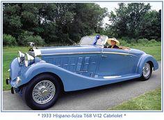 1933 Hispano Suiza V-12 Cabriolet