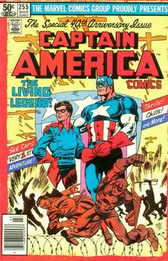 Captain America # 255 by Frank Miller & Joe Rubinstein