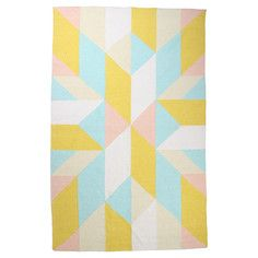 Zest Kilim Rug Yellow, $129 - $499, now featured on Fab.
