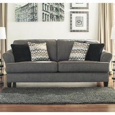 Gayler Sofa in Doralin Gray | Nebraska Furniture Mart $349