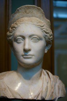 (c. 130 CE) Bust of a Roman Matron