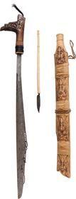 DAYAK HEADHUNTER'S SWORD, MANDAU