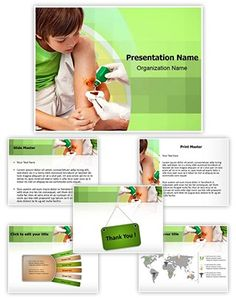Antiseptic Point Presentation Template Is One Of The Best Medical Templates By Editabletemplates