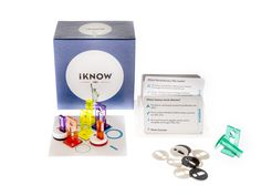 Contents of the iKnow In America expansion pack for Tactic Games' iKnow Trivia Game