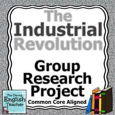 Argumentative Industrial Revolution topics?