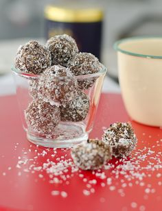 """Dried Fruits, Seeds and Nuts """"Energy"""" Balls  My Lemony Kitchen  I would substitute all the things that I don't like with things I do to make it work for you."""