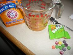 Candy Experiments (aka What to do with ALL that Halloween candy?!?) -