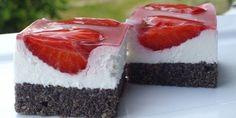 « Recepti za torte i kolace Czech Recipes, Croatian Recipes, Cookie Recipes, Dessert Recipes, Desserts, Croatian Cuisine, Poppy Cake, Food Garnishes, Strawberry Cakes