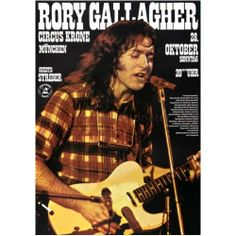 Rory Gallagher - 1973. Germany