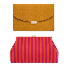 Accessories company Mansur Gavriel features three classic Girard textiles in a capsule collection