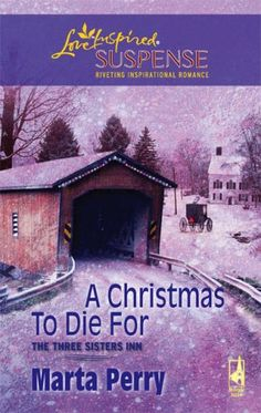 A Christmas to Die For (The Three Sisters Inn, Book 2) (Steeple Hill Love Inspired Suspense #75) by Marta Perry,http://www.amazon.com/dp/0373442653/ref=cm_sw_r_pi_dp_2SAosb076BRNBC66    She was lucky to be alive...    ...after the hit-and-run that nearly took her life. But history seemed to be repeating itself when Rachel Hampton spied a car speeding down the dark road.