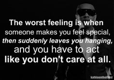 Its always been a game of Who can care less but yet still enough to make me think he cares...