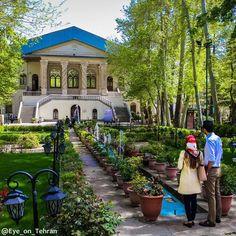 Ferdows Garden, A Historic Persian Garden in Tehran
