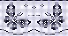473 × 250 piksel – Nur Gumus – Join in the world of pin Butterfly Cross Stitch, Cross Stitch Borders, Cross Stitch Animals, Cross Stitch Designs, Cross Stitching, Cross Stitch Embroidery, Cross Stitch Patterns, Filet Crochet, Crochet Borders