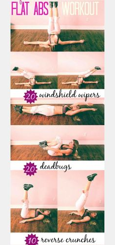 Some great ab #exercises that you can really feel in your core!  #30DFC #Workout #Fitness