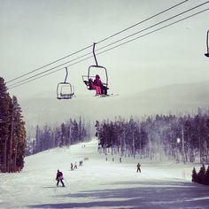Okay parents we've talked about going skiing In Colorado for long enough let's go!