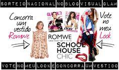 Sorteio Glamour BR: Vote no meu look e concorra um vestido super fofo da Romwe!