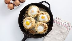 Recipe with video instructions: Think of these crepes stuffed with spinach, mushrooms and topped with an egg as sorta like savory cinnamon rolls. Ingredients: For the crepes:, 2 large eggs, 1/4...