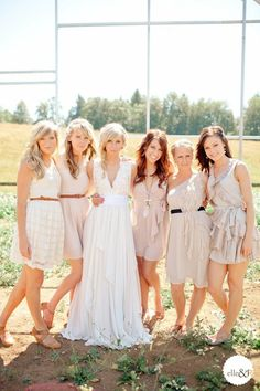 kinda country.. but just love cuz it's easy and flowy and the dresses for the bridesmaid can DEFINITELY be worn outside of a wedding!