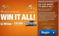 Hi there, PCH fans! How many of you dream about winning a HUGE prize from PCH? Can you imagine what it would be like to have the Prize Patrol come knocking on your door? Think of all the things you could do with that much money! The possibilities would be endless! So, now I am …