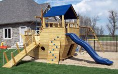 The Consumer Product Safety Commission reported that 51,000 Emergency Room visits are the result of injuries that occur at home around playground equipment each year. An unsettling fact that may make you reconsider what types of toys you provide for your little ones. When purchasing a home playground set, it is pertinent that you do your due diligence to make sure that the product you are purchasing is safe and durable.