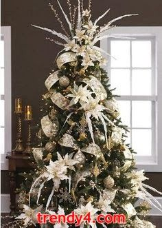 Snowflakes and Snowmen Christmas Tree 2014