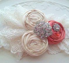 Guava #Wedding Garter SET #weddingwednesday #ww