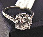 Cartier - Art Deco CARTIER Platinum Diamond Ring w 301 Carat E VS1 Diamond W GIA Report  - Just $170,000 - http://www.diamondsandgemstones.net/cartier-jewelry/#