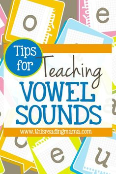 Tips for Teaching Vowel Sounds ~ 8 Common Questions Answered! | This Reading Mama