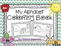 Alphabet Coloring Book and Handwriting Practice from Wild about Teaching on TeachersNotebook.com (29 pages)