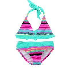 30020edb45d06 Find More Bikinis Set Information about Bikini 2018 Tankini Swimsuits Girls  Swim... -