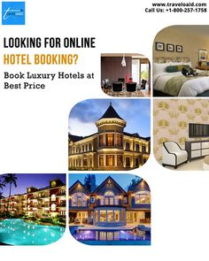 Book hotels online with Traveloaid and enjoy staying at luxurious hotels in reasonable rates. For booking or any enquiry call us at Book Hotel Online, Flight And Hotel, Hotels, Luxury, Best Deals, Books, Travel, Libros, Viajes