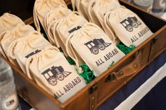 Train Party Favors // Train Party Ideas // Paige Simple // www.paigesimple.com