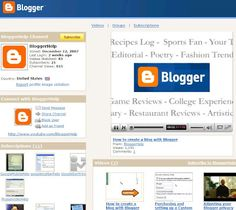 Blogger Help Videos  For all you visual learners who want to add features to your blog, but don't have the patience to browse our help articles, we've created the new Blogger Help YouTube Channel. There you can find videos that show you step by step how to use Blogger features.