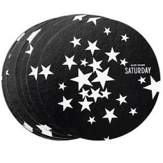 Party coasters in Black Star Cluster