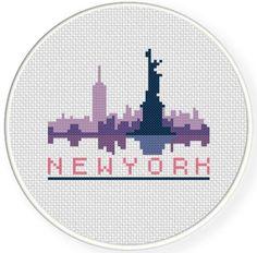 New York Cross Stitch Pattern pattern on Craftsy.com