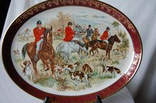 Weatherby Hanley, Royal Falcon Ware Collectible Plate