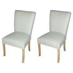 Check out this item at One Kings Lane! Mist Julia Dining Chairs, Pair