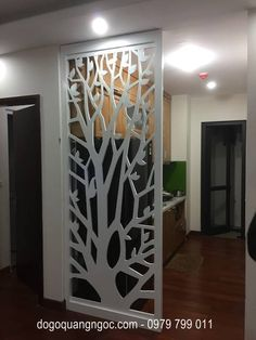 Stunning Privacy Screen Design for Your Home 43 Front Door Design Wood, Room Door Design, Wall Design, Living Room Partition Design, Room Partition Designs, Home Decor Furniture, Furniture Design, Pop False Ceiling Design, Drawing Room Interior