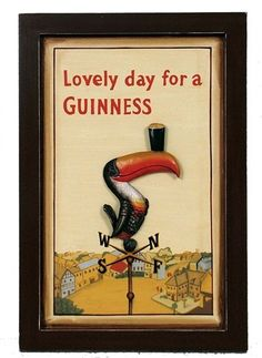 "Lovely Day Rectangle Wall Art 19x13"" (http://www.mullysirishimports.com/guinness-lovely-day-rectangle-wall-art/)"