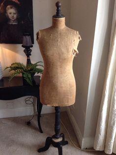 Vintage STOCKMAN Paris couture mannequin   eBay