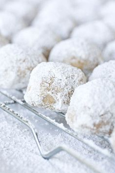 Mexican wedding cookie.  This recipe looks yummy!