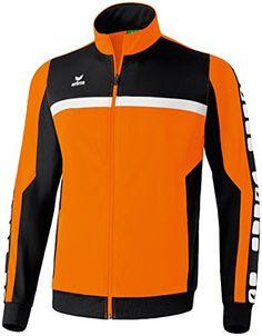 ERIMA Men's Classic 5-Cubes Polyester Jacket - Orange/Bla... https://www.amazon.co.uk/dp/B00TX5OMT8/ref=cm_sw_r_pi_dp_U_x_WhozAb0WDA8ND