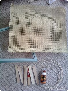 Furniture Feature Friday - A Cane Tutorial & Link Party - Miss Mustard Seed