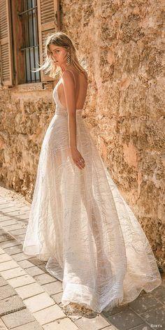 "Muse by Berta 2020 Wedding Dresses — ""Tel Aviv"" Bridal Collection Bridal Dresses, Wedding Gowns, Muse By Berta, Berta Bridal, Glamorous Dresses, Gorgeous Wedding Dress, Bridal Collection, Tel Aviv, Marie"