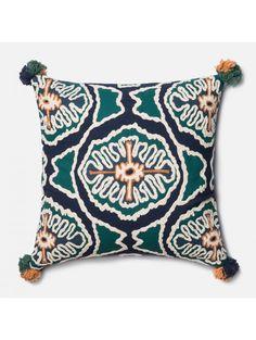 Justina Blakeney In the Eye Pillow, Blue
