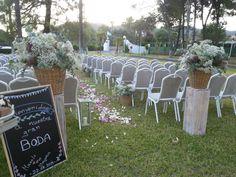 LATEST WORKS: Boda al aire libre #decoración #bodas