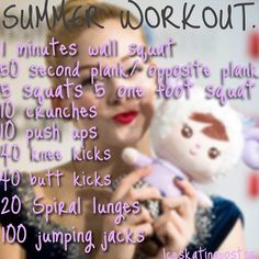 SUMMER SKATING WORKOUT! It's already summer again! Time to work hard and land those jumps!