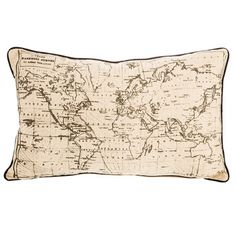 Get World Map Pillow Cover online or find other Pillows & Covers products from HobbyLobby.com